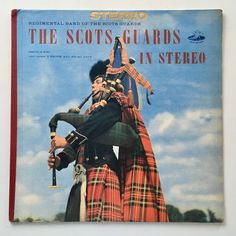 Band of The Scots Guards - The Scots Guards In Stereo LP Vinyl Record Album, Angel Records - S 35792, Original Pressing