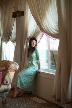 Night in Paris (Mint Green) by Dainty Jewell's | Gorgeous modest fashion. bridesmaid dresses, modest wedding apparel, ruffles & lace | www.daintyjewells.com