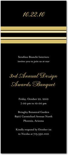Elegant Event:Black