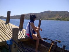 Labuan Bajo! business trip, site visits. just woke up in the boat and ready to work! 2014