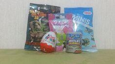 Kinder Surprise Egg, Mutant Mania, Thomas & Friends, AniMagic and Walkin...