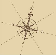 This is literally the exact tattoo I'd like, with the PotC ride quote around the inner circle All that wander are never truly lost, they are simply following the compass of their heart, wanderlust.