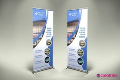 Hotel Roll Up Banner by Creatricks on @creativemarket