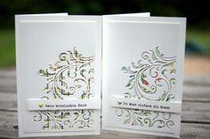 Cards with Tim Holtz dies