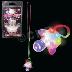 Supreme Party & Novelties 12 Assorted LED Toy Pacifiers - Pack of 12, http://www.amazon.com/dp/B003EI2G20/ref=cm_sw_r_pi_awd_hFRlsb09TPNYZ