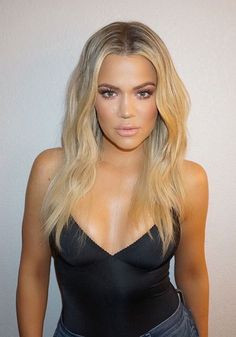 26 ideas hair long blonde khloe kardashian for 2019 Khloe Kardashian Cabello, Koko Kardashian, Blonde Hair Khloe Kardashian, Bobs Rubios, New Hair, Your Hair, Blonder Bob, My Hairstyle, Celebrity Beauty
