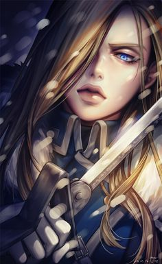 Olivier Mira Armstrong ♥️