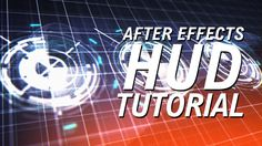 After Effects Tutorial - Awesome HUD/UI Design