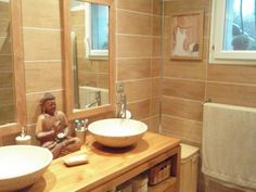 Google zen and decoration on pinterest - Idee deco petite salle de bain zen ...