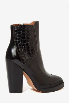 Jeffrey Campbell Impress Leather Boot