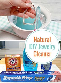 Clean your jewelry without using harsh chemicals at home!