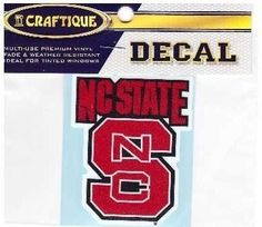 NC State Decal – 460 Sports