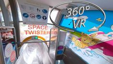 Twister is not quite as fast, but at it's one of the longest indoor slides in Europe. Optionally you can enjoy . Indoor Slides, Music Clips, Vr, Neon Signs, Space, Floor Space, Spaces