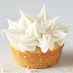 Champagne Cupcakes Cute decorating idea. The recipe is for a jam filled cupcake with champagne in the batter. Usually, you can't really taste champagne in batters and icings...the flavor is too mild.