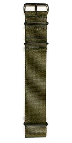 Maurice de Mauriac, navy green Nato strap.
