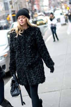 #BeyondTheRow Winter Street Style | New York City, January 2014.