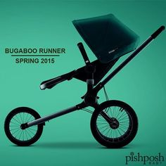 We are just weeks away from the release of the brand new Bugaboo Runner! The Runner is the first parent-facing jogging stroller ever, making fitness a bonding experience. And isn't that what it's all about, anyway? Coming soon! Sign up and be the first to find out when we have more info! http://www.pishposhbaby.com/bugaboo-runner.html