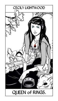 Cecily Lightwood (née Herondale)