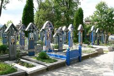 For more than 50 years, Ion Patras created hundreds of crosses and tombstones. Source
