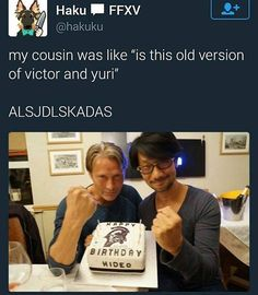 Huh, Mads kinda does look like Victor...