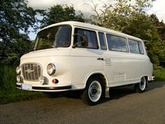 Barkas B1000 van. East German, 2-stroke, weird, what could be better?