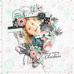 Pickleberrypop :: DOTD - Dec 3 :: A piece of Christmas {full kit} + gift