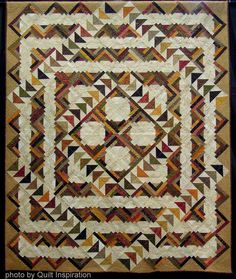 'Double Duty'  Celebrating Autumn Quilts
