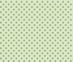 Moss green polka dots fabric by graphicdoodles on Spoonflower - custom fabric