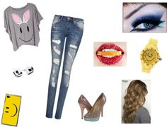 """""""smile"""" by julie-oreo-de-niall on Polyvore"""