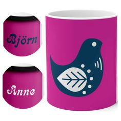 SCANDINORDIC.COM presents our distinctive BOHO BIRD magic mug! C'mon get happy ... CUSTOMIZE it with name or text on the other side FREE... A fantastic gift for Mom, Grandma, your sister, bird lovers and purple lovers 🎁🎁🎁   #grandma #birdlife #magicmug #colorchangingmug #giftsformom #giftsforgrandma #mothersday #thecolorpurple #partridgefamily #scandinaviangifts #nordicgifts #skandinaviskgaver #scandinaviandesign #nordicdesign #coffeemug #customgifts #customcoffeecup