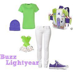 Buzz Lightyear DIY Halloween Costume