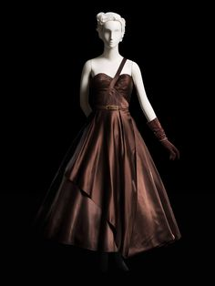 Brown Evening Dress