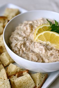 Stovetop Crab Dip. Crab dip was one of my favorite apps from a local restaurant in college. I hope this is reminiscent.