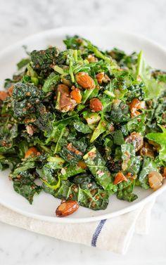 Recipe: Kale & Quinoa Salad with Dates, Almonds & Citrus Dressing