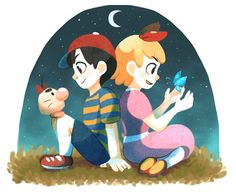 Earthbound - Ness / Paula