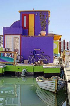 Sausalito Boat House, California. by pedro lastra, via Flickr