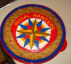 Royal Rangers Cookie Cake Cheer Cakes, Ranger Cookies, Rey, Ministry, Passion, Scouts, Dios