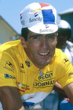 Le Tour de France @letour  ·  16 juil.2014 #BonAnniversaire au quintuple vainqueur du Tour / to the 5-time @letour winner : Miguel Indurain ! #TDF