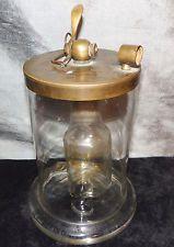 RARE Antique 1820s Hand Blown Glass DOBEREINER'S LAMP-Hydrogen Gas Lighter SALE