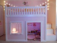 Refreshing teen girl bedrooms makeover for that wonderful teen girl room space, image ref 2341647888 Bunk Beds Small Room, Bunk Beds With Stairs, Kids Bunk Beds, Bunk Bed Ideas For Small Rooms, Toddler Loft Beds, Junior Loft Beds, Teenage Girl Bedrooms, Little Girl Rooms, Girls Bedroom