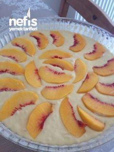 Kremalı Şeftalili Kek – Nefis Yemek Tarifleri Homemade Beauty Products, Cream Cake, Sweet Bread, No Bake Desserts, Food And Drink, Peach, Candy, Baking, Fruit