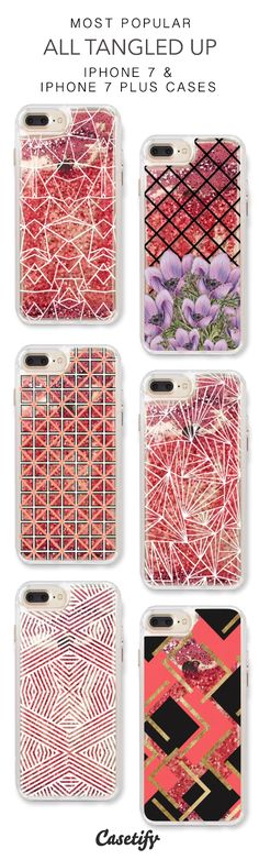 Most Popular All Tangled Up iPhone 7 Cases & iPhone 7 Plus Cases. More protective liquid glitter pattern iPhone case here > https://www.casetify.com/en_US/collections/iphone-7-glitter-cases#/?vc=rfGvbTYjn7
