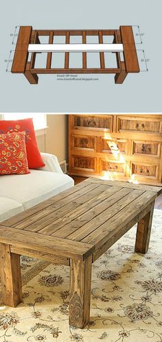 Sleek and Stylish DIY Coffee Tables  [ Barndoorhardware.com ] #DIY #hardware #slidingdoor