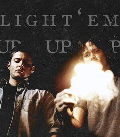 Light 'em up boys. I'm on fire!
