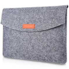 ProCase 12  129 Inch MacBook Sleeve Case Bag New Surface Pro 2017  Pro 4 3 iPad Pro 129 Portable Carrying Protective Cover for 11 12 Chromebook Ultrabook Laptop Netbook Gray * Read more at the image link. (This is an affiliate link)