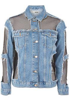 Moto jeans jacket www.topshop.com