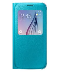 Samsung Galaxy S6 S-View Cover Blauw