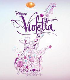 Esta, es la guitarra Official de Violetta, que contiene TODOS aquellos objetos que Violetta escribe en su diario...