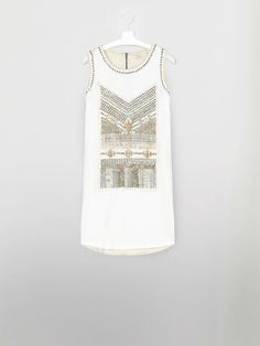 Linen embroidered dress - Hoss Intropia