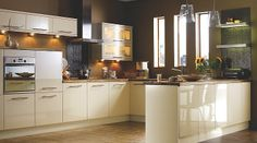 Gloss Cream Slab, it Kitchen Doors & Drawer Fronts, it Kitchens